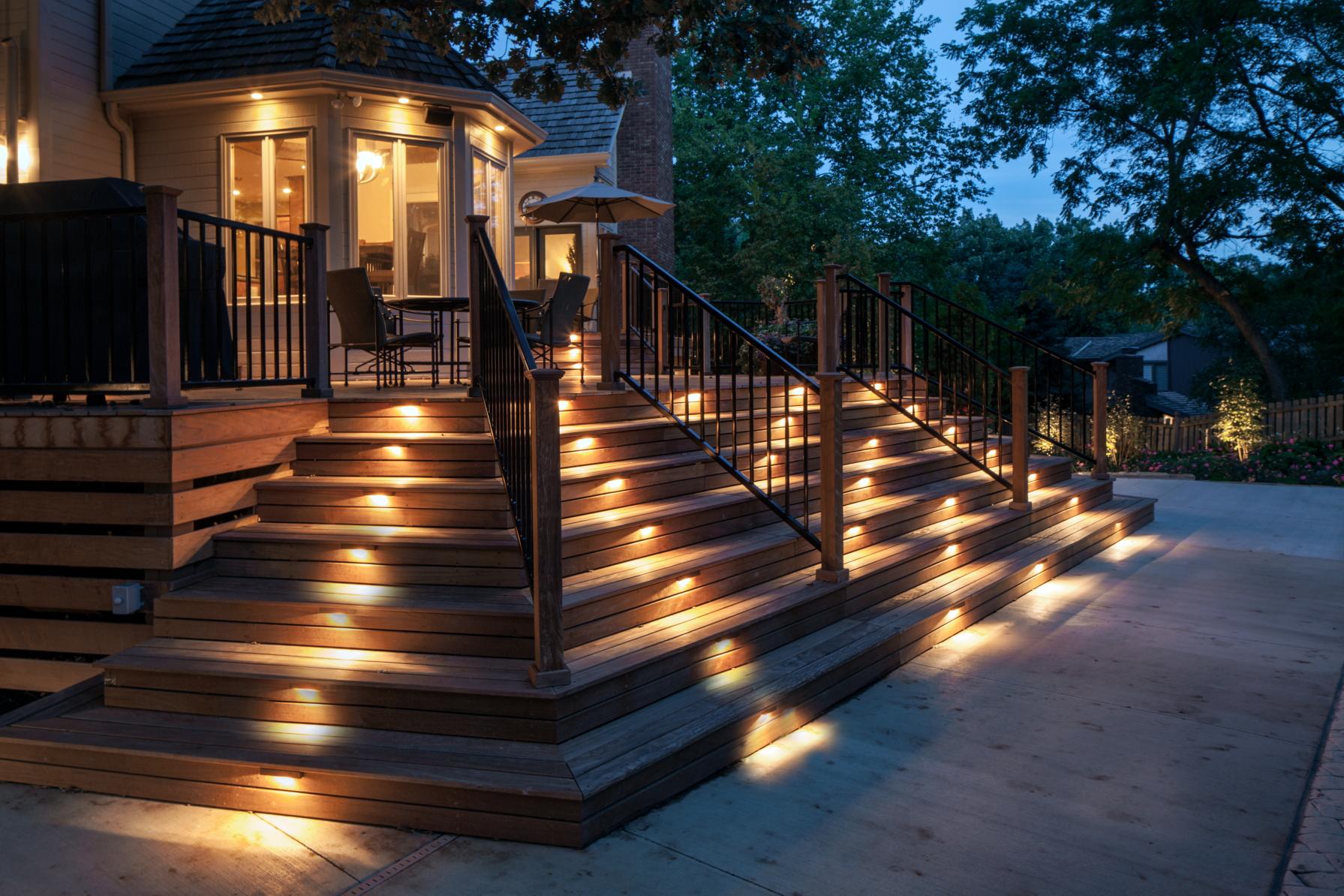Outdoor Stair Lighting
